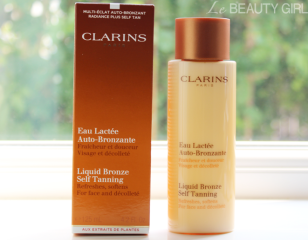 Image result for clarins self tan face